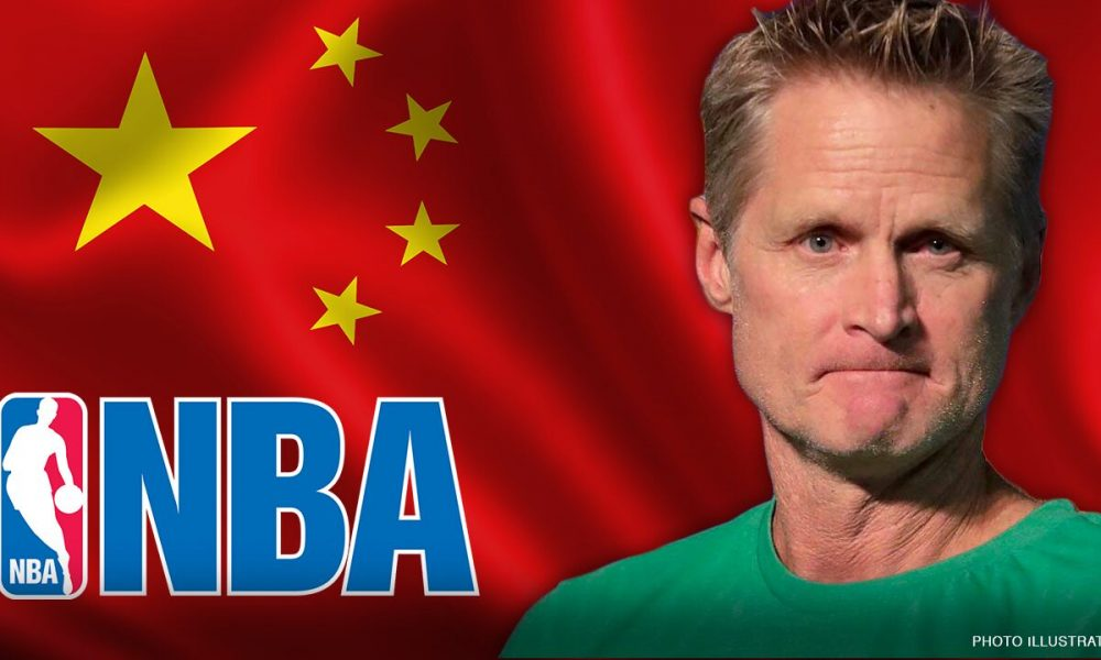 Warriors' Steve Kerr blasted for silence on NBA-China controversy after slamming critics of national anthem protests