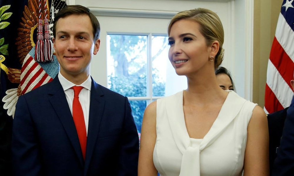 Ivanka Trump and Jared Kushner earned at least $36 million in outside income in 2019