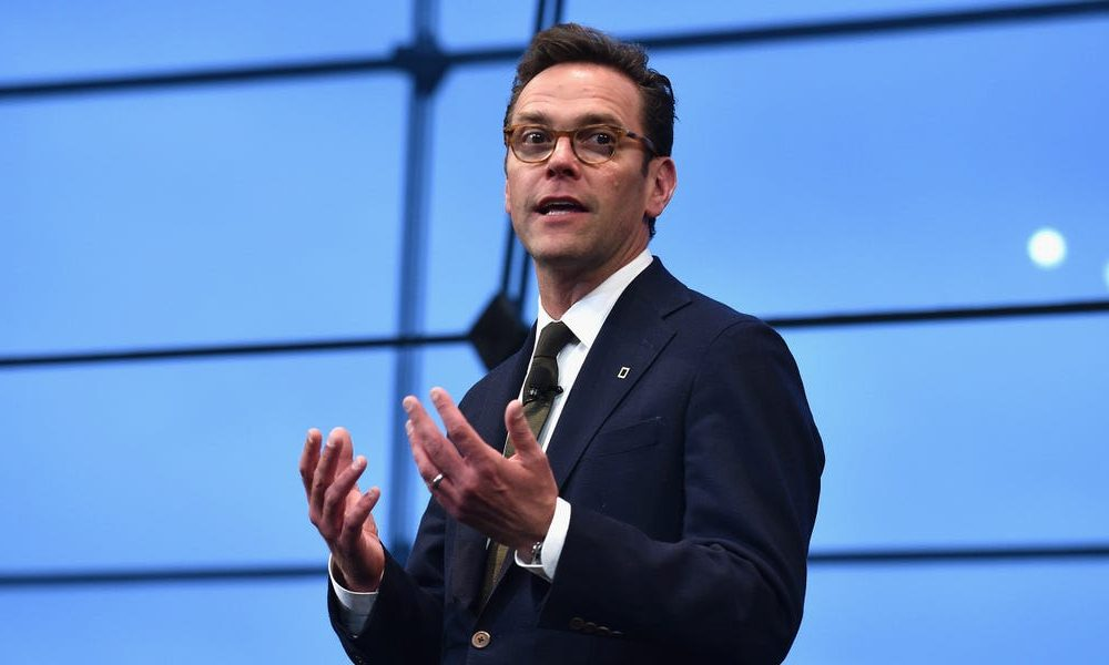 James Murdoch resigned from the board of News Corp citing editorial 'disagreements'