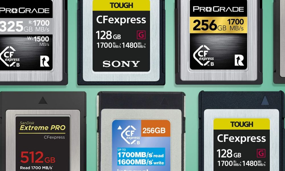 What is CFexpress? The new camera memory card format explained