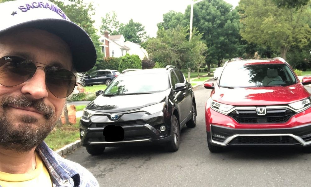 Driving a new Honda CR-V Hybrid made me question my loyalty to my old Toyota RAV-4